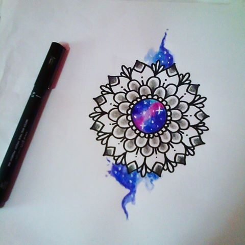 #tattoo #tattoos #tatuagem #mandala #ink #inked #tats #love #draw #drawing #design #galaxy #nebula #tatuagens #instagood #inspiration #space #flower #sketch #tatuagensfemininas #intatattoo #tattooidea #tattoodo