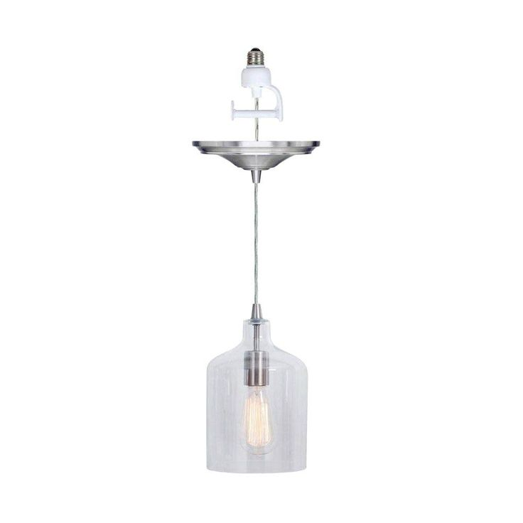 Home decorators collection ryder instant pendant light clear conversion kit 0888100420 at the home