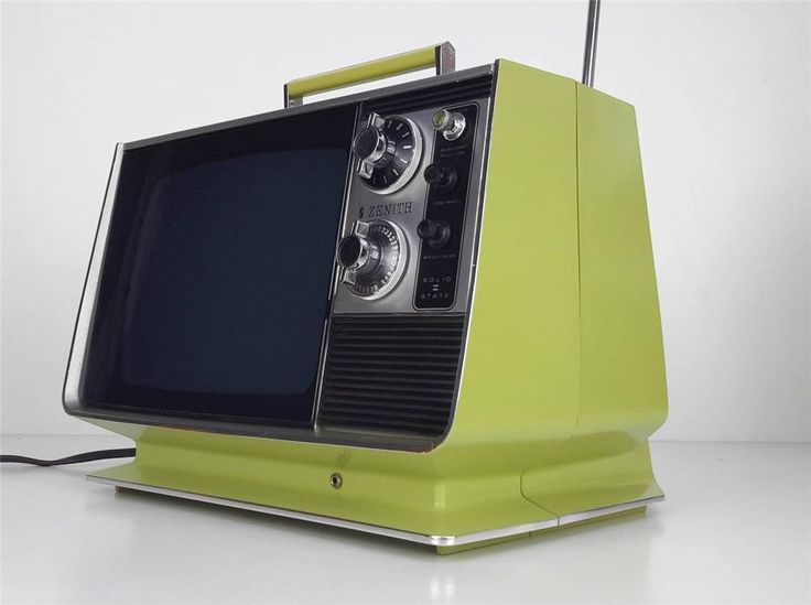 Portable T V S : Images about vintage televisions on pinterest