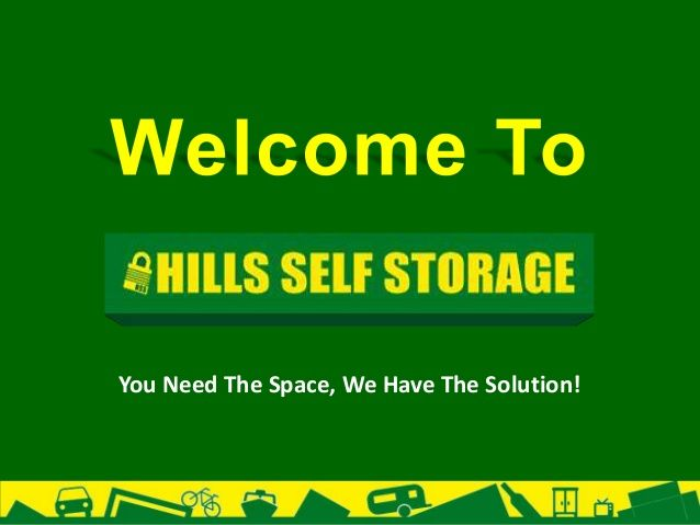 You Need The Space, We Have The Solution!