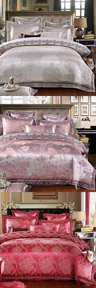 2015 Winter 4PCS Bedding Set Super King Size Bedding-set Bed Sets Quilt Wedding Duvet Cover Sheet Pillow Cover Without Comforter