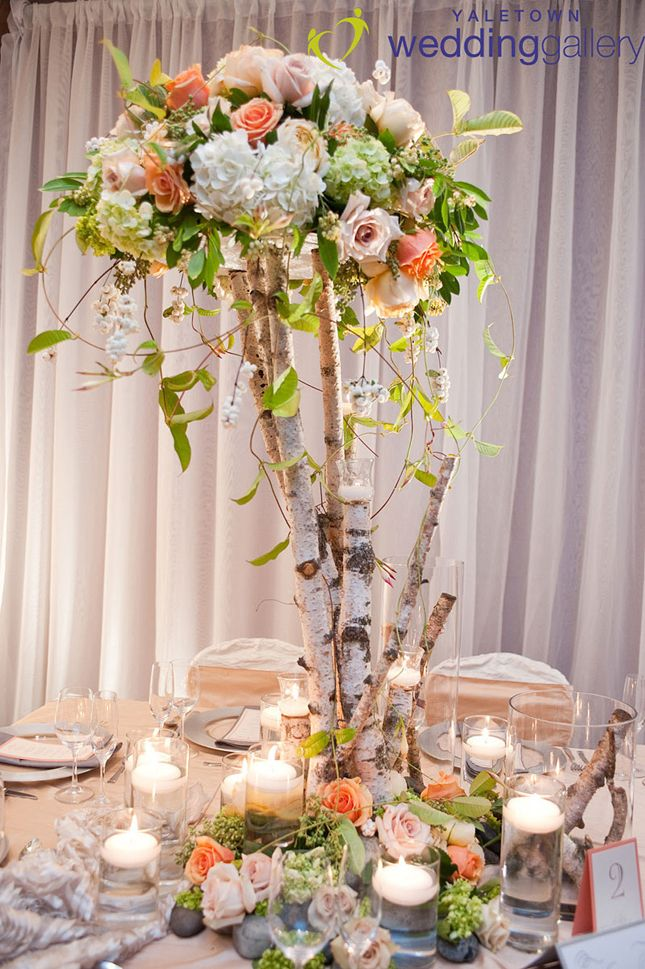 The best birch centerpieces ideas on pinterest