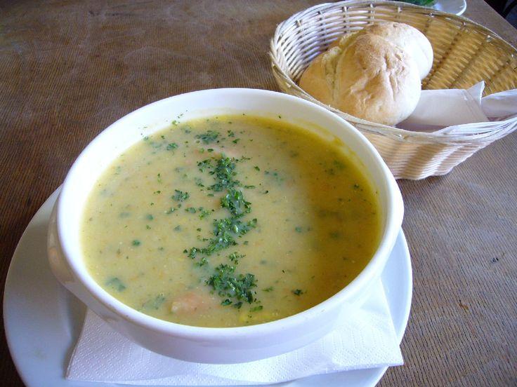 ドイツのポテトスープ。Guten Appetit!