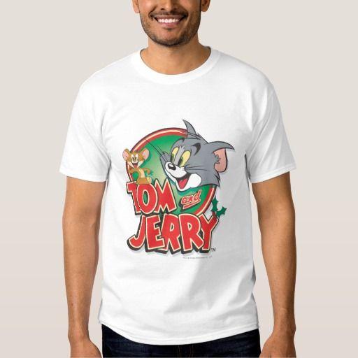 Logotipo de la obra clásica de Tom y Jerry. Regalos, Gifts. #camiseta #tshirt