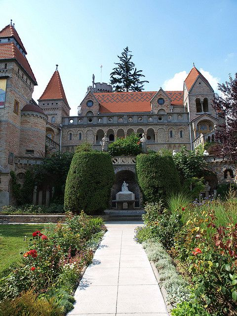 Bory Castle in Szekesfehervar, Hungary