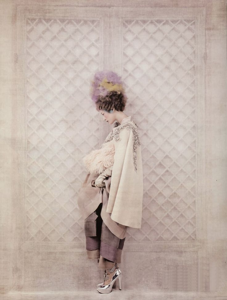 "photographed by koo bon chang for vogue korea, january 2014 ""powdery flower"""
