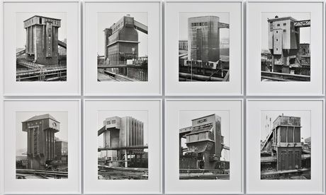Toweringly impressive … A section of Bernd and Hilla Becher's Coal Bunkers. Photograph: Bernd + Hilla Becher/Sprueth Magers
