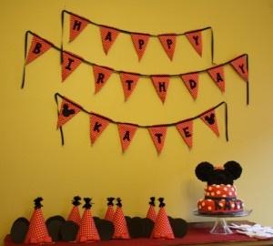 Cute Disney Birthday Idea~