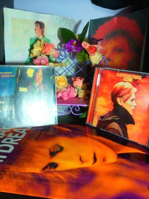 Rookie » Not Creepy At All: Creepy, God, Photographs, Art, Book, Bowie3 Readershrinesfeb2012, Desks, David Bowie, Shrine Obsession