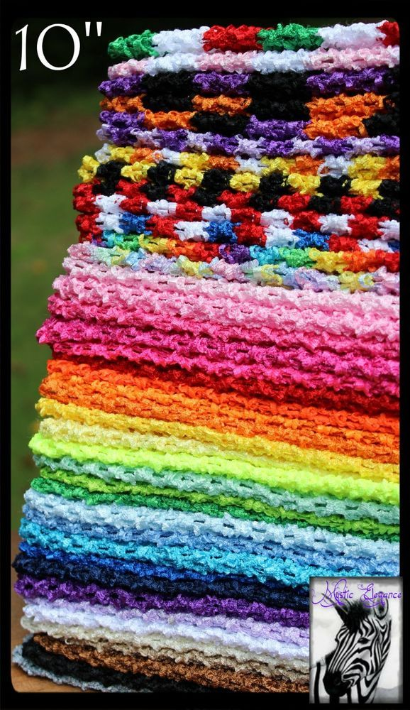 Usa 40 Colors 10 X 10 Crochet Tube Tops Tutu Tops Headband Adult