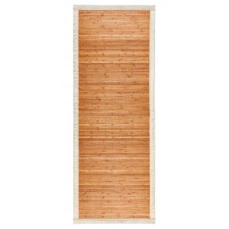 Alfombra bambu 60x160 natural tablitas
