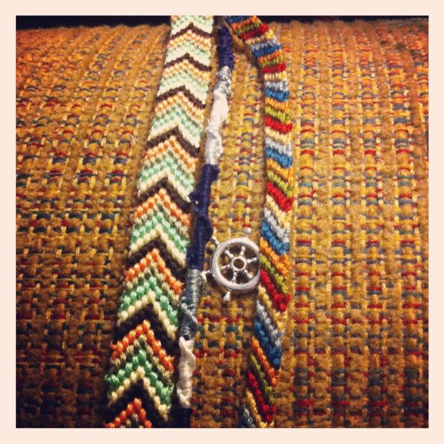 Best embroidery thread bracelets ideas on pinterest