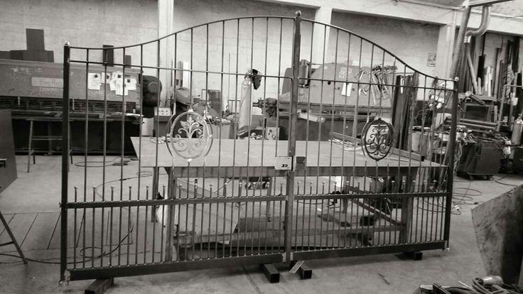 Cancello ferro artigianale