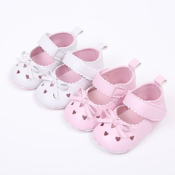 Hot Baby Girls Toddler Lace Flower Princess Shoes Soft Sole Non-slip Crib Shoes