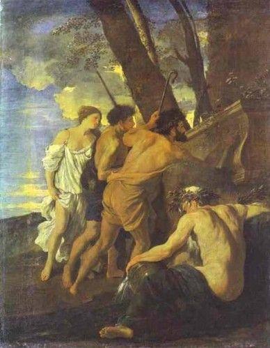 "Nicolas Poussin, ""Et in Arcadia ego"""
