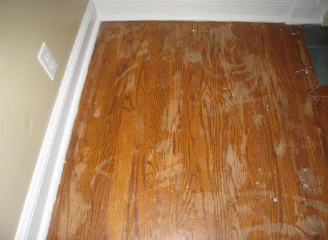 DIY Ideas: Tips For Refinishing Wood Floors, video example also at bottom