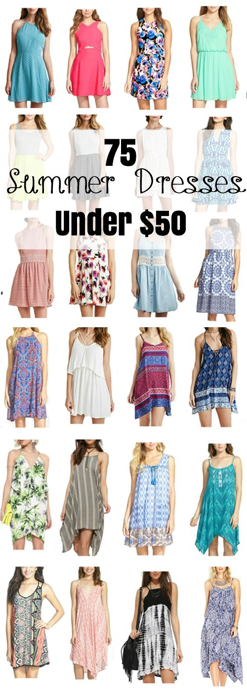 75 Cute Summer Dresses Under $50! Amazing Finds!