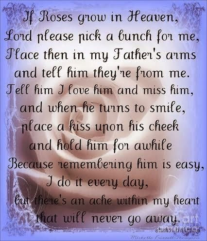 missing dad poems | me and my dad five years since my dad passed