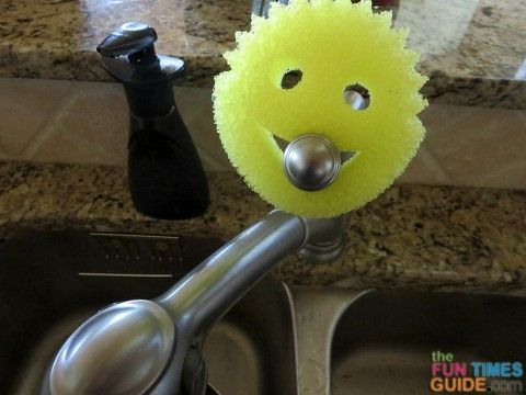 Neat uses for Scrub Daddy - My new favorite friend!