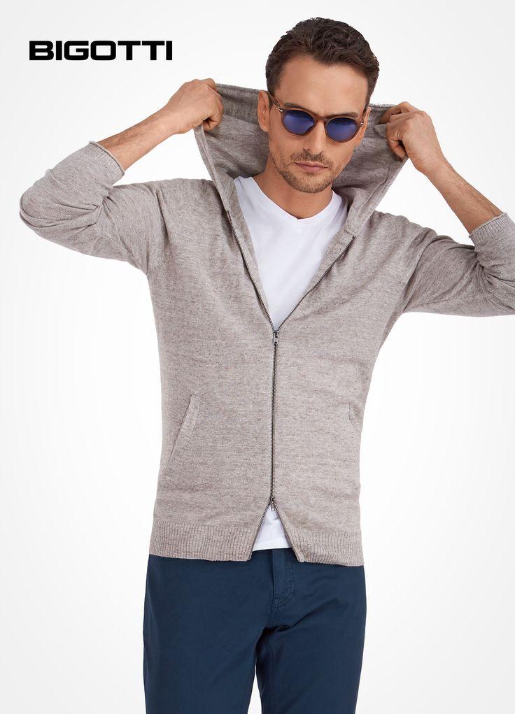 The #cotton #knitwear - #cardigan or #hoodie - is a #great #addition to your #summer #wardrobe http://www.bigotti.ro  50% OFF #sale #Bigottiromania #promotie #reduceri #discounts #ootd #ootdmen #followus #mensfashion #mensclothing #menswear ##mensstyle #casual #tricotaje #bumbac #urban #garderoba #summertime