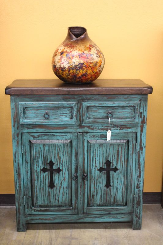 Western Decor | Rustic Tables | Southwestern Furniture | Agave Ranch  So would love this in my entry way!!!