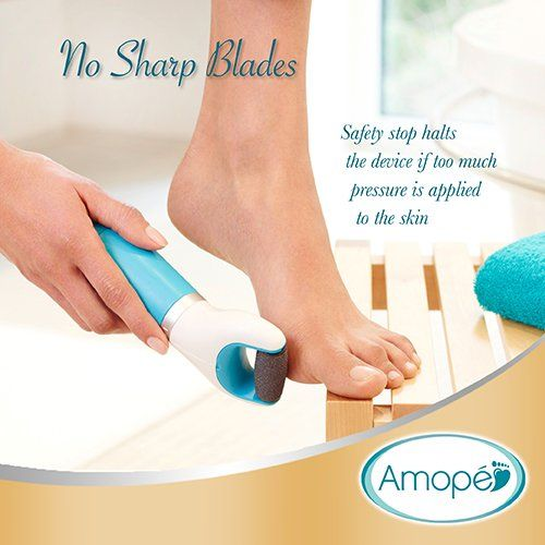 AmazonSmile: Amopé Pedi Perfect Electronic Pedicure Foot File: Health & Personal Care