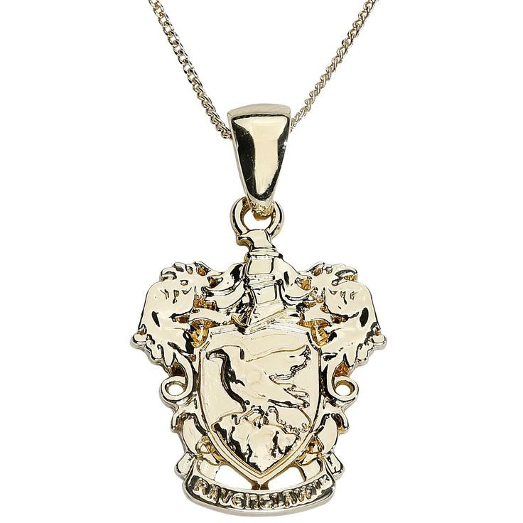 Ravenclaw Crest Charm Necklace - Necklace by Harry Potter