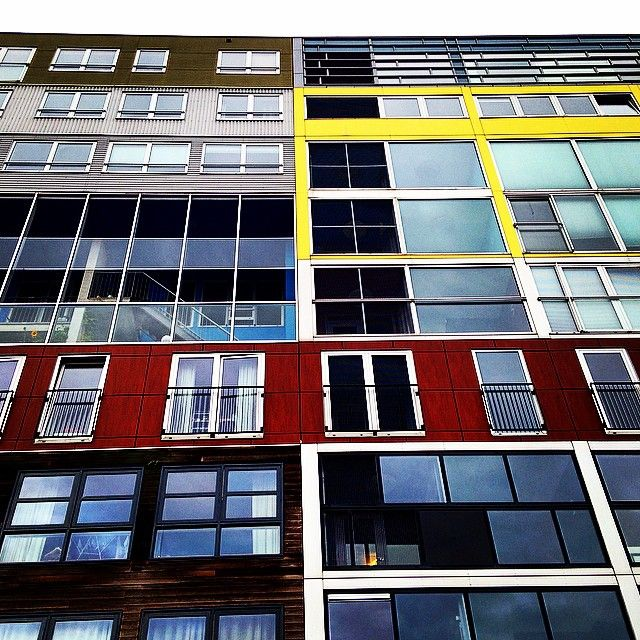 Adventures in #WaterArchitecture @nataleahrae Look familiar?  #silodam #Amsterdam #MVRDV