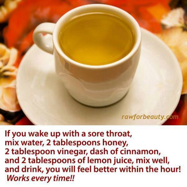 how to stop a sore throat