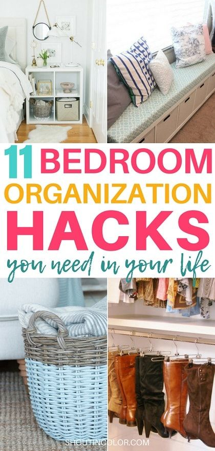 I Was Looking For Some Of The Best Diy Bedroom Organization Hacks To Organize And Declutter My Found These Creative Ideas Tips