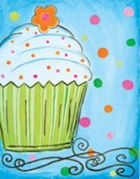 Things to paint on a canvas for kids for Step by step canvas painting for kids
