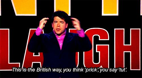 When he spoke this truth about British politeness. | 19 Times Michael McIntyre Was Actually Really Fucking Funny
