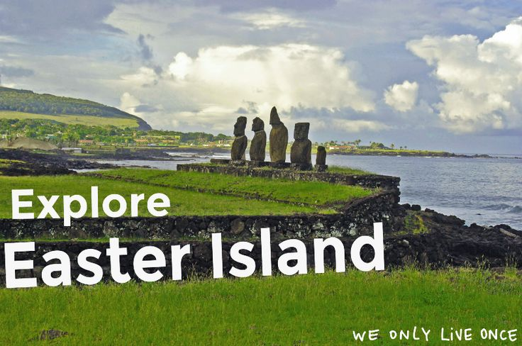 """The caves from """"Isla de Pascua"""" were used in the ancient world for housing, shelter, planting, and rituals. If you have even a tiny interest in exploring historical sites, you must visit Easter Island. In addition to crawling through numerous caves, you can finally see those giant stone head things you've seen in numerous travel pictures (they're actually called Moai, check them out in photo above!)"""