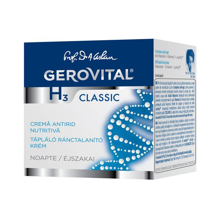 GH3 Classic Nourishing Anti-Wrinkle Cream Night Care