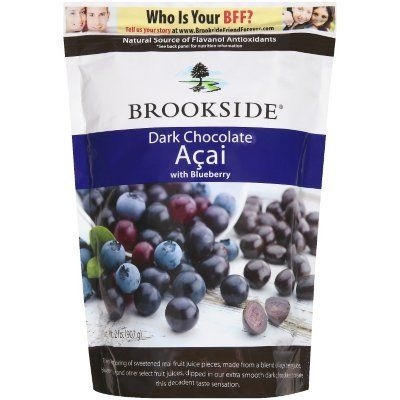 Brookside Dark Chocolate Acai with Blueberry 2 Pounds Resealable Bag Misc.