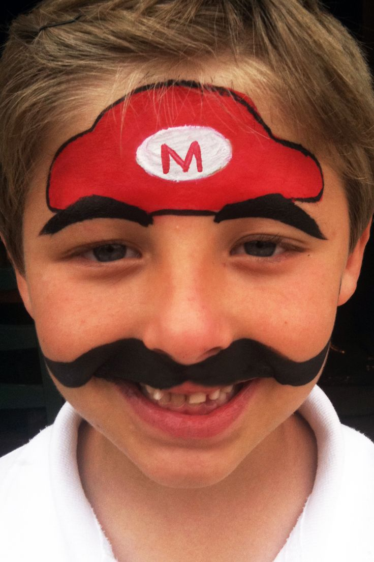 Mario+brothers+n+face+painting | Face Painting « Faces By Gina