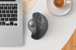 Logitech resurrects the trackball mouse with the MX Ergo