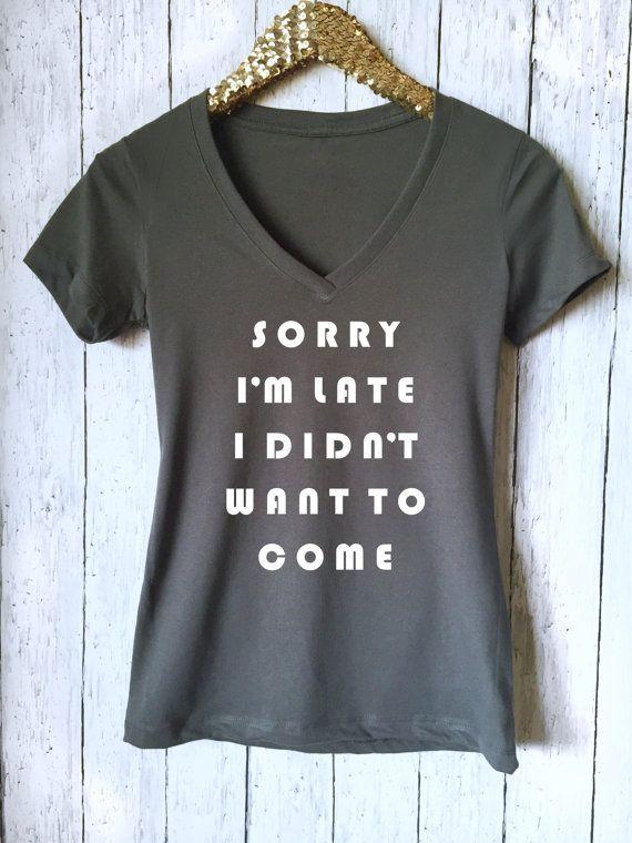 Désolé je suis en retard Shirt d'entraînement Running par VibeTees