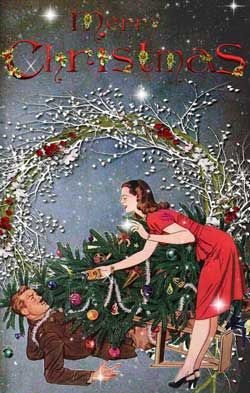 729 best images about Christmas Vintage-People on ...