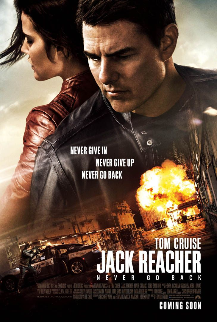 ̞� ˦�처 : ˄�버 ʳ� ˰� (jack Reacher : Never Go Back)