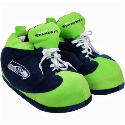 Seattle Seahawks Color Block Sneaker Slipper