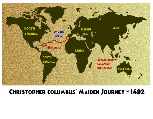 Early Voyages Of Exploration Interactive Map Through: Short Videos On Christopher Columbus And Other Explorers