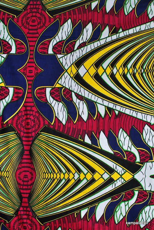 New Kampala Fair African Print fabric
