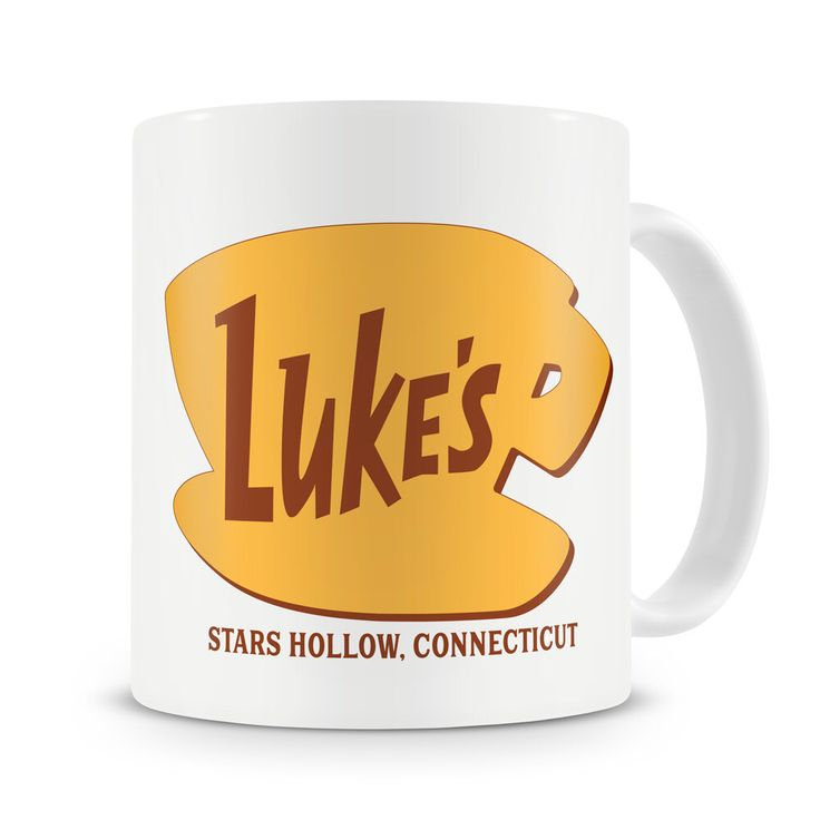 Luke's Diner Mug Inspired by Gilmore Girls Stars Hollow Connecticut Gilmore Girls Mug Lukes Diner Coffee Lorelai by Pressiexpress on Etsy https://www.etsy.com/listing/484110761/lukes-diner-mug-inspired-by-gilmore