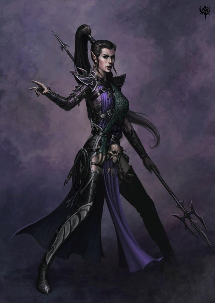 Image result for fantasy pictures of dark elves