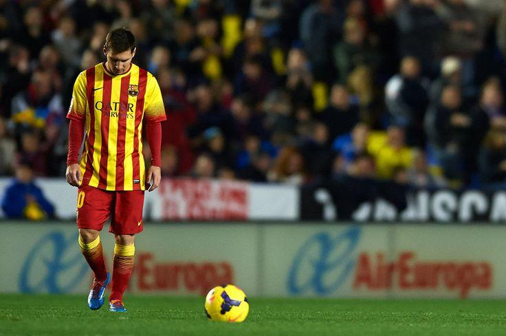 """Messi: """"Nos ha faltado un poco de suerte"""""""