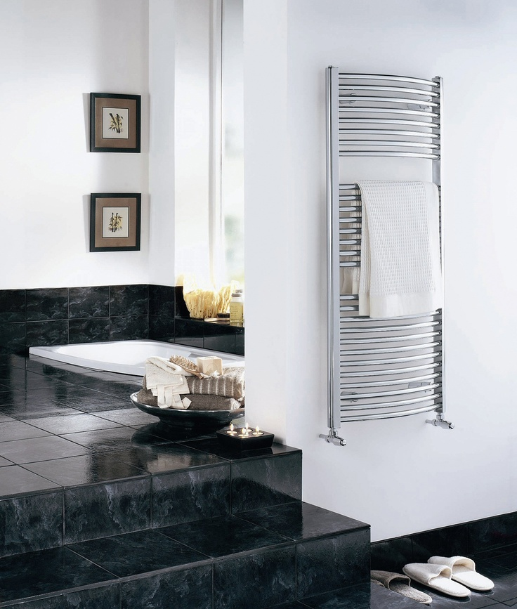 Miss these towel warmers!  A must for my next dream home...unless I'm in the tropics somewhere :).