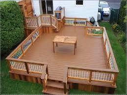 ... Decks on Pinterest  Wood deck designs, Backyard decks and Backyard