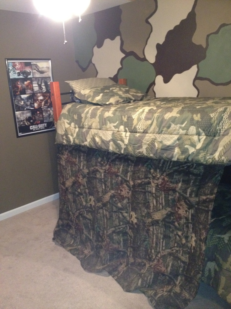 10 best images about call of duty room ideas on pinterest for Camo kids bedroom ideas