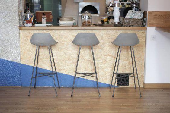 Afbeeldingsresultaat voor betonnen bar cafe